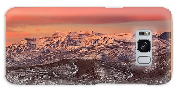 Heber Valley Sunrise Panorama. Galaxy Case