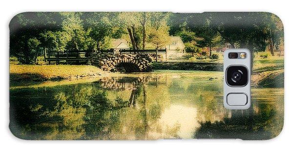 Heckscher Park Pond, Huntington Ny Galaxy Case