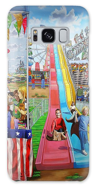 Hecksher Park Fair Galaxy Case by Bonnie Siracusa
