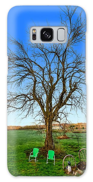 Hedge Apple Tree Galaxy Case by Brian Stevens