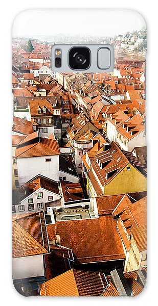 Heidelberg Cityscape Galaxy Case