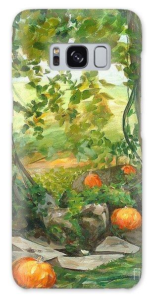 Heidi's Pumpkins Galaxy Case