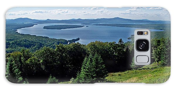 Height Of The Land Overlooking Mooselookmeguntic Lake Galaxy Case