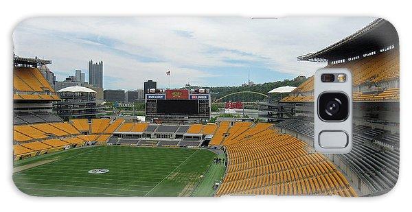 Heinz Stadium With Pittsburgh Skyline Galaxy Case