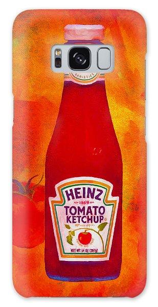 Heinz Tomato Ketchup Galaxy Case by Nop Briex