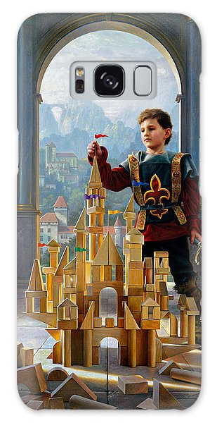 Galaxy Case featuring the painting Heir To The Kingdom by Greg Olsen