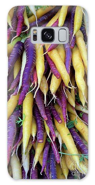 Heirloom Rainbow Carrots Galaxy Case