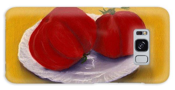Heirloom Tomatoes Galaxy Case by Anastasiya Malakhova
