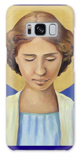 Helen Keller Galaxy Case