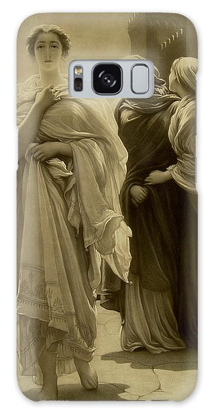 Mythological Galaxy Case - Helen Of Troy by Frederic Leighton