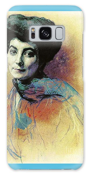 Helena Roerich Galaxy Case by Pg Reproductions