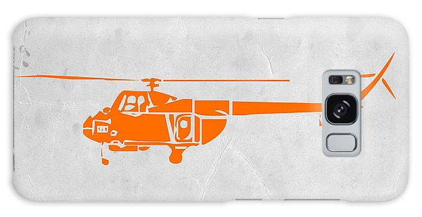 Helicopter Galaxy S8 Case - Helicopter by Naxart Studio