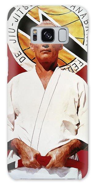 Helio Gracie - Famed Brazilian Jiu-jitsu Grandmaster Galaxy Case by Daniel Hagerman