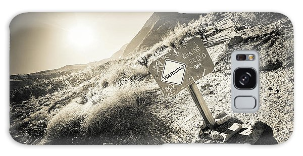 Hellhole Canyon Warning Galaxy Case