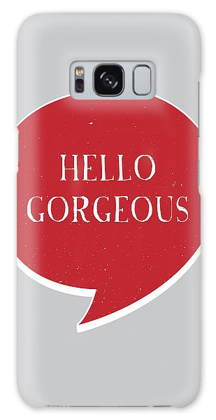 Thought Galaxy Case - Hello Gorgeous by Samuel Whitton