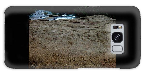 Hello I Heart U Galaxy Case