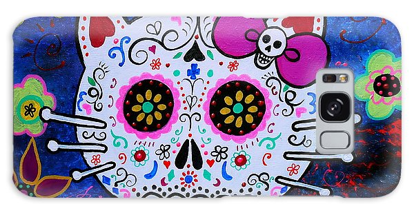 Kitty Day Of The Dead Galaxy Case