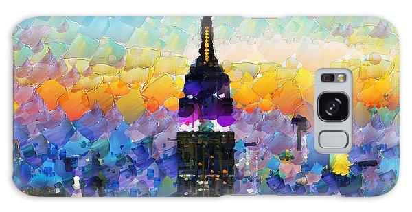 Hello New York Galaxy Case by Sir Josef - Social Critic -  Maha Art