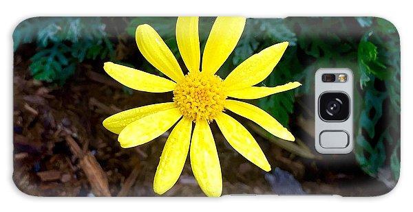 Hello Yellow Galaxy Case