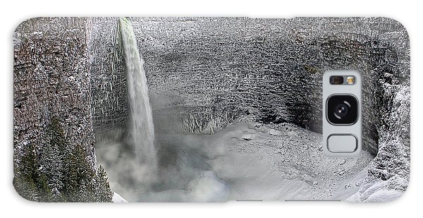 Helmcken Falls Galaxy Case by Ed Hall