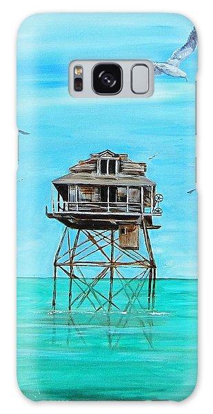 Hemingway Stilt House Galaxy Case