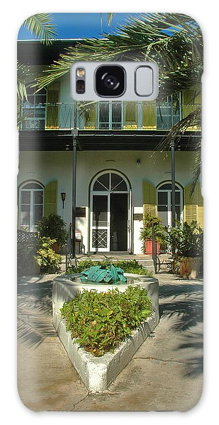 Hemingways House Key West Galaxy Case