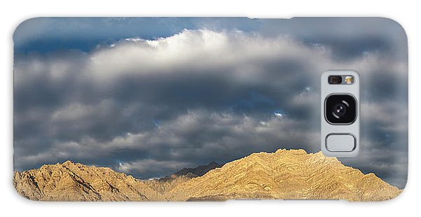 Galaxy Case featuring the photograph Hemis Panorama, Karu, 2005 by Hitendra SINKAR
