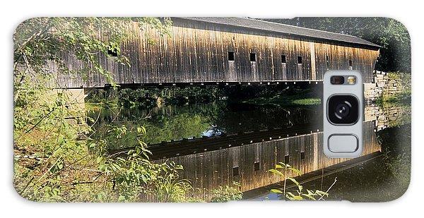 Hemlock Covered Bridge - Fryeburg Maine Usa. Galaxy Case
