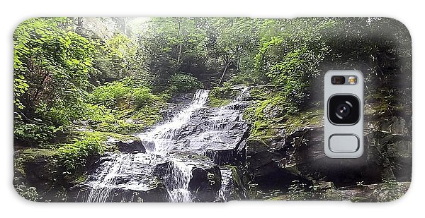 Hen Wallow Falls Great Smoky Mountains National Park Galaxy Case