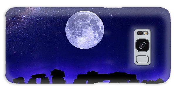 Henge Under The Supermoon Galaxy Case