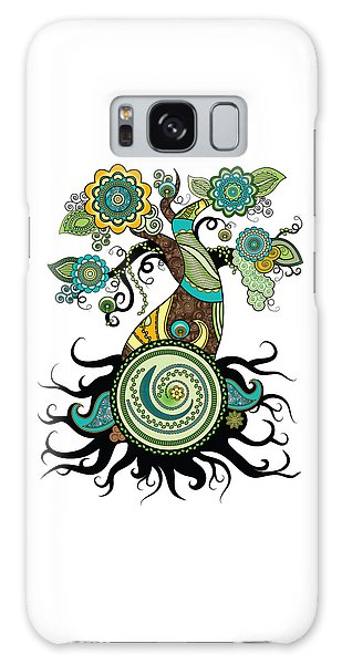 Henna Tree Of Life Galaxy Case by Serena King