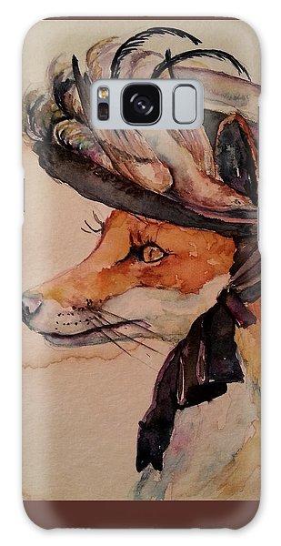 Henrietta Fox Galaxy Case by Christy  Freeman