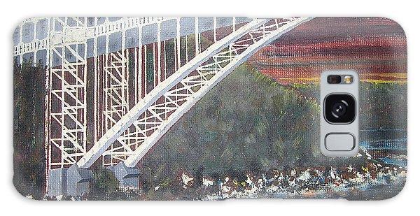 Henry Hudson Bridge Galaxy Case