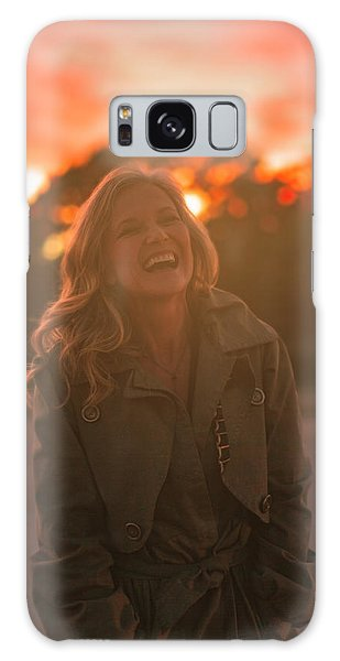 Her Laugh Galaxy Case