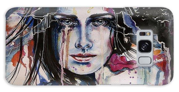 Her Sacrifice Galaxy Case by Geni Gorani