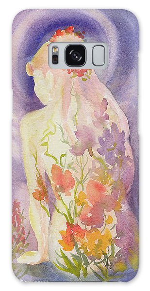 Herbal Goddess  Galaxy Case
