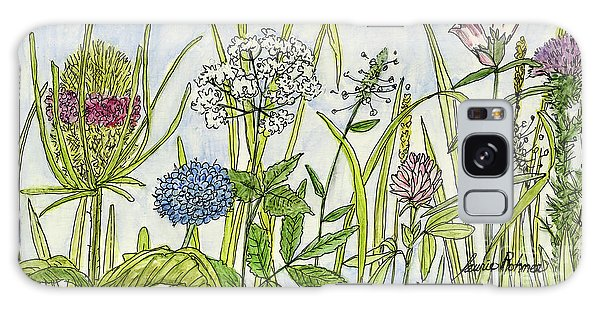 Herbs And Flowers Galaxy Case