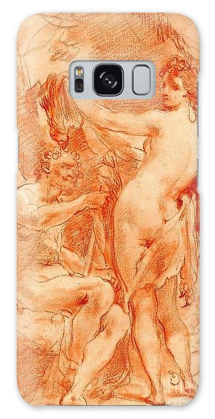 Hercules And Omphale Galaxy Case by Pg Reproductions