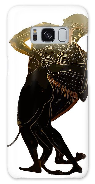Hercules And The Nemean Lion Galaxy Case by Tracey Harrington-Simpson
