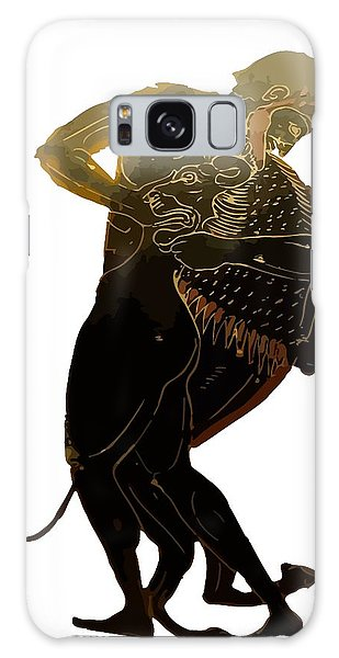 Hercules And The Nemean Lion Galaxy Case