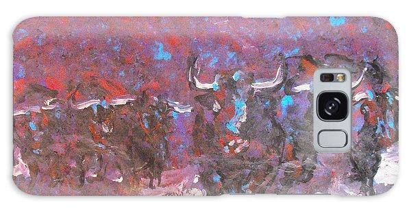 Herd Of Bulls Galaxy Case