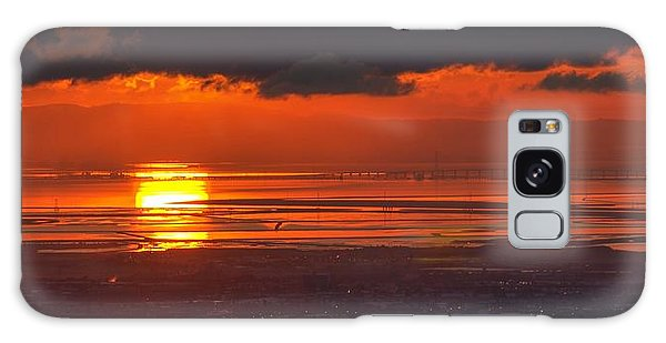 Here Comes The Sun Galaxy Case by Peter Thoeny