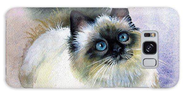 Here Kitty Galaxy Case