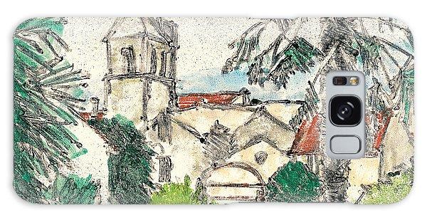 Herepian Village In Provence Galaxy Case by Martin Stankewitz