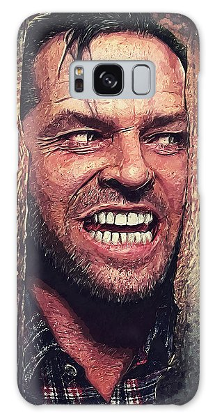 Here's Johnny - The Shining  Galaxy Case