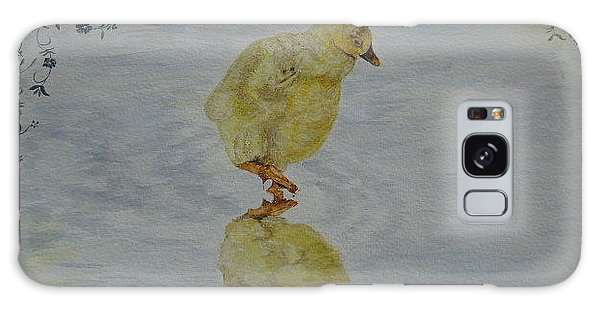 Gosling Galaxy Case - Here's Looking At You Kid by Marilyn Grimble