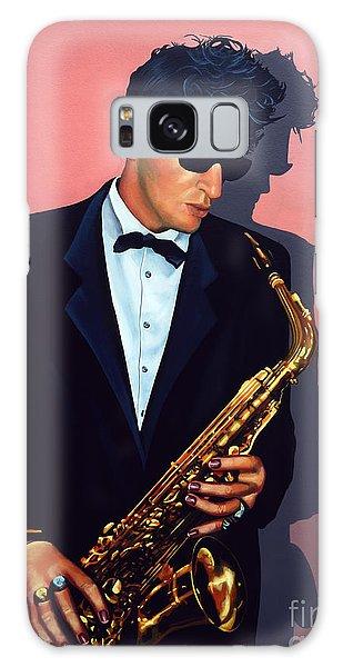 Saxophone Galaxy Case - Herman Brood by Paul Meijering