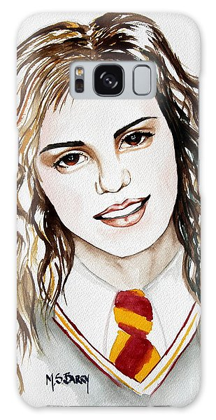 Hermoine Granger Galaxy Case by Maria Barry
