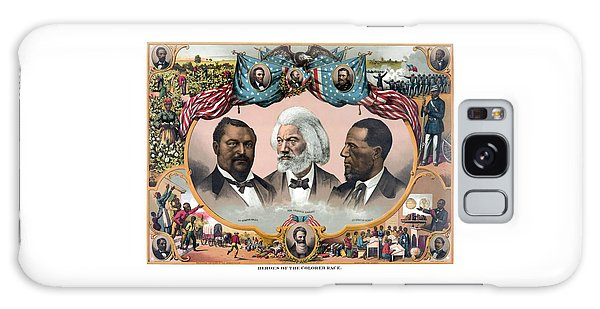 Abraham Lincoln Galaxy Case - Heroes Of The Colored Race  by War Is Hell Store