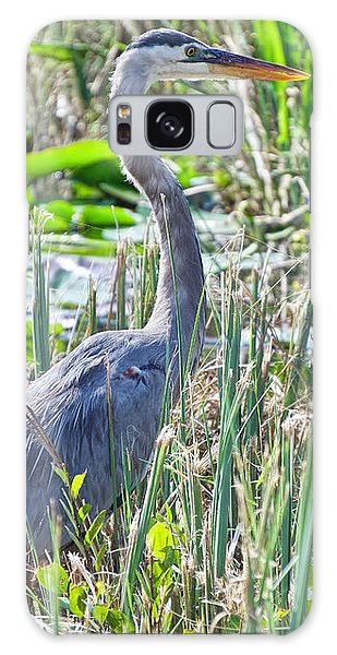 Heron By The Riverside Galaxy Case